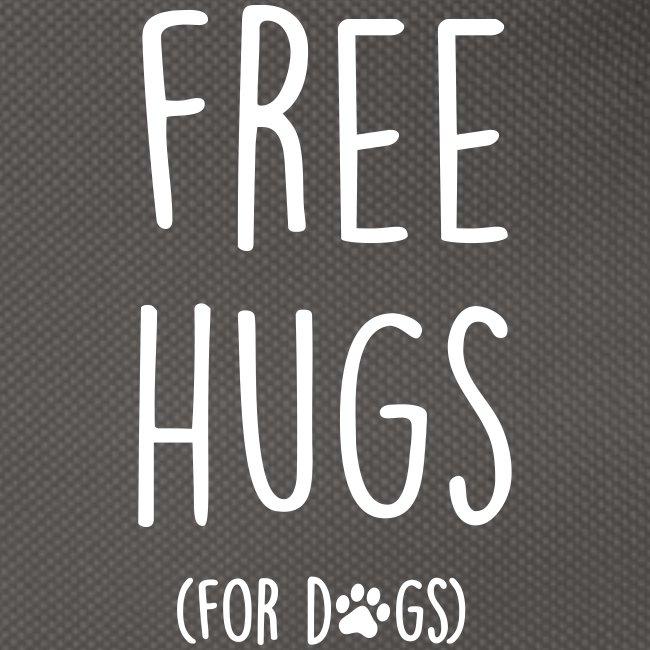 Vorschau: free hugs for dogs - Gürteltasche