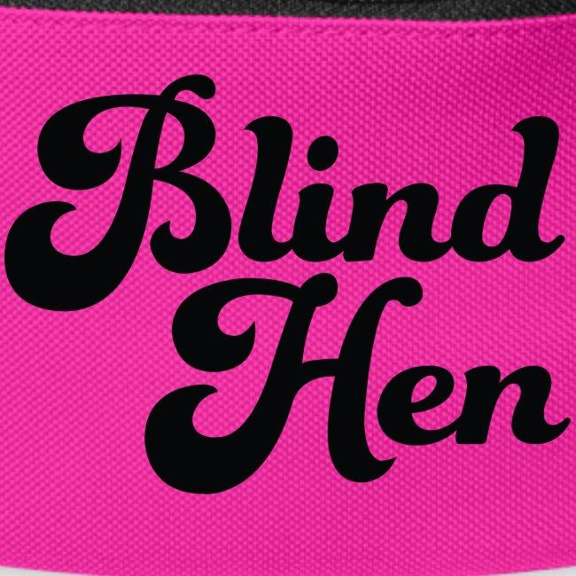 Blind Hen - Logo T-shirt premium, green.