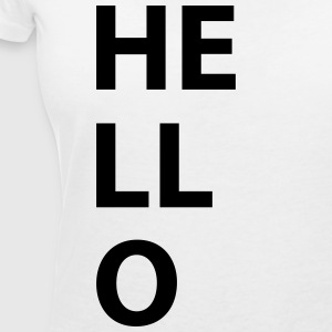 Hello - Women's V-Neck T-Shirt