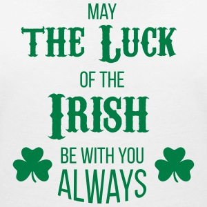 Luck of the Irish - Frauen T-Shirt mit V-Ausschnitt