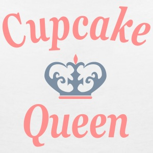 Cupcake queen - Women's V-Neck T-Shirt