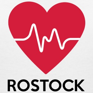 heart Rostock - Women's V-Neck T-Shirt