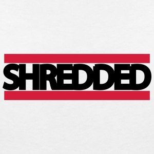 shredded - Women's V-Neck T-Shirt
