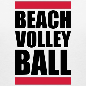 volleybal T-shirt - beachvolleybal overhemd - Beach - Vrouwen T-shirt met V-hals