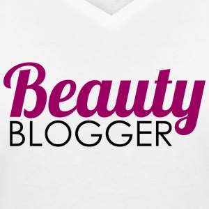 Beauty Blogger - T-shirt med v-ringning dam