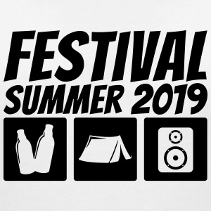 Festival Summer 2019 - Women's V-Neck T-Shirt