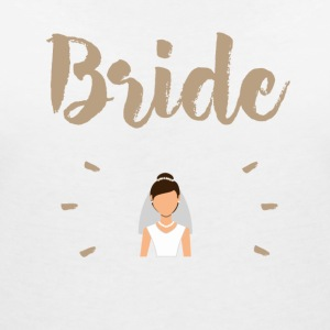 Bride - Women's V-Neck T-Shirt