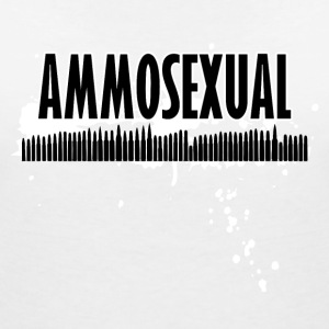 Ammosexual Multi-Caliber (black) - Women's V-Neck T-Shirt