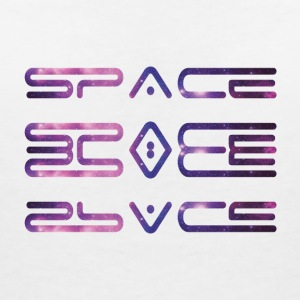 SPACE SPACE - Women's V-Neck T-Shirt