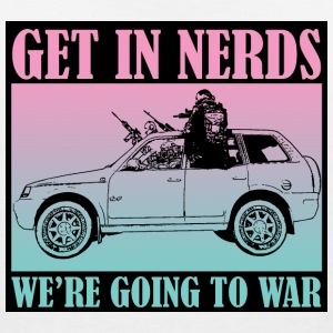 Get in Nerds! - Women's V-Neck T-Shirt