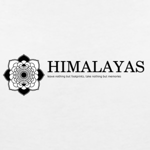 Himalaya - Women's V-Neck T-Shirt