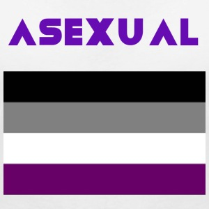 ASEXUAL - Women's V-Neck T-Shirt