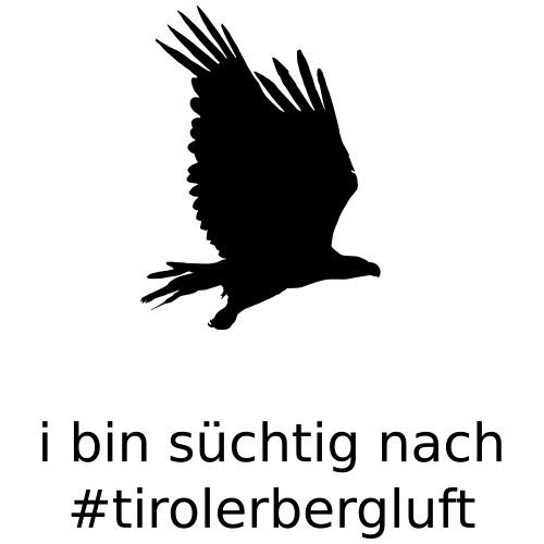 i bin süchtig nach #tirolerbergluft - Frauen Bio-T-Shirt mit V-Ausschnitt von Stanley & Stella