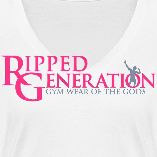Ripped Generation Tekstilogo Kulta