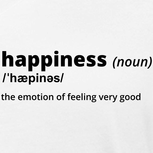 Happiness - Shirt (100% bio und fairtrade)