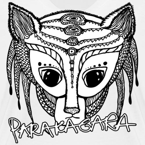 parakagara-spreadhsirt - Women's Organic V-Neck T-Shirt by Stanley & Stella