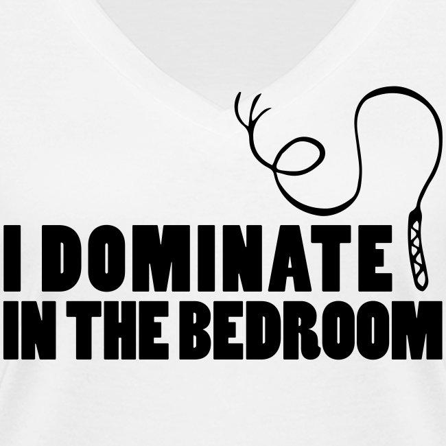 I dominate in the bedroom