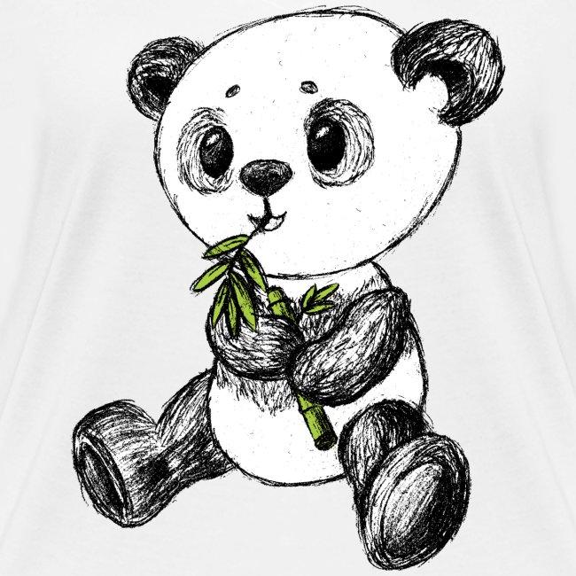 Panda Karhu värillinen scribblesirii