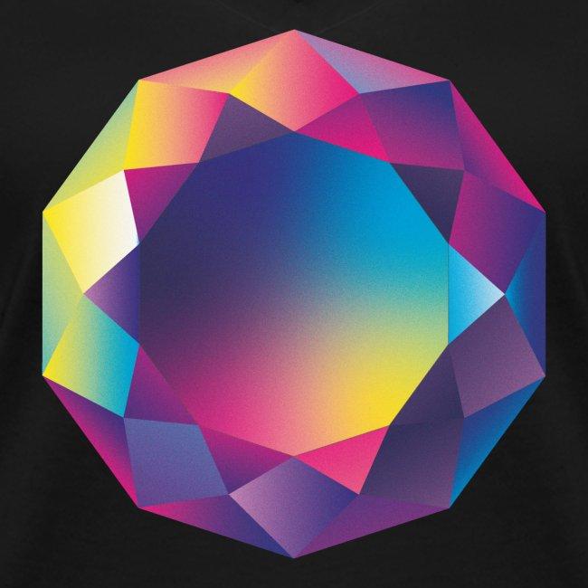 Diamond geometric illustration
