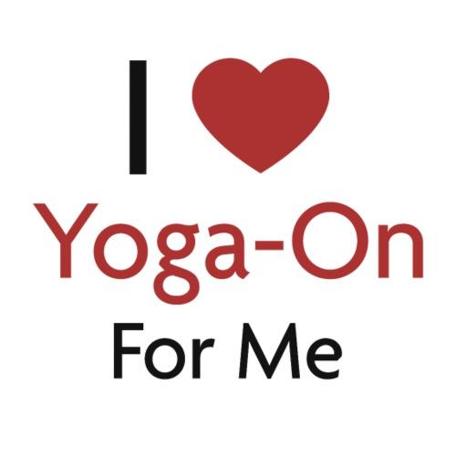 I Love Yoga-On For Me - Frauen Bio-T-Shirt mit V-Ausschnitt von Stanley & Stella