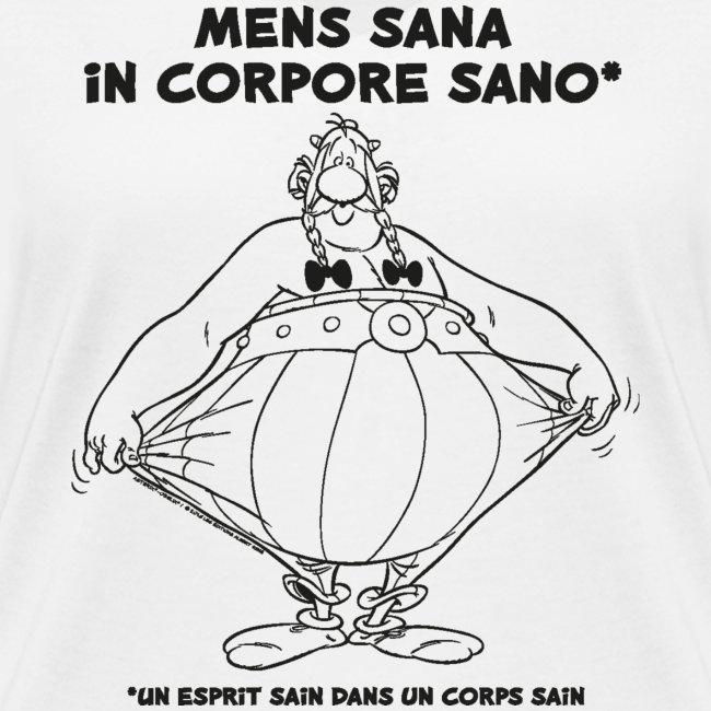 Obélix - Un sain dans un corps sain. - Lineart