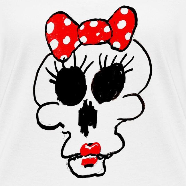 Crâne Minnie par Jack M.