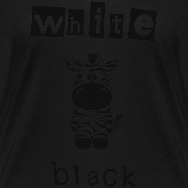 Zebra black or white