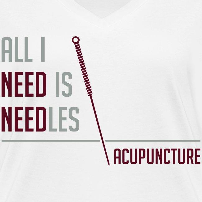 All I need is needles