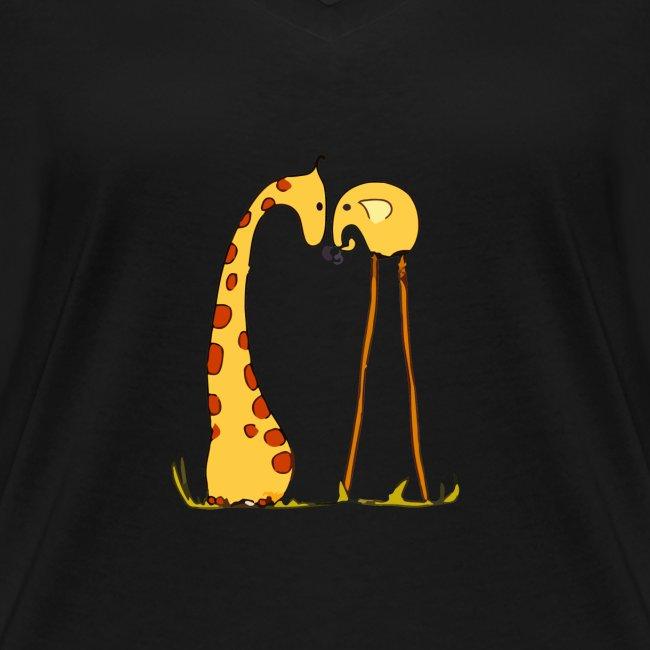 Maglietta San Valentino Tenera   con Animali