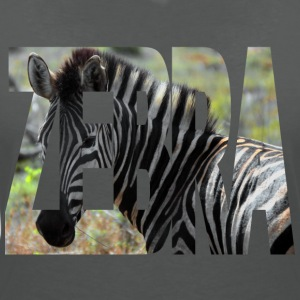 zebra - Women's V-Neck T-Shirt