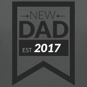 NEW DAD 2017 - Women's V-Neck T-Shirt