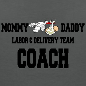 Pregnant Labor Delivery Team Coach - Women's V-Neck T-Shirt