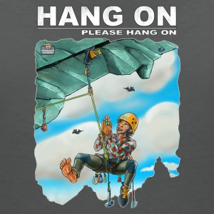 Hang one please hang on - Women's V-Neck T-Shirt