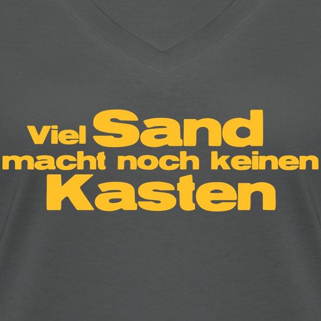 Viel Sand...keinen Kasten
