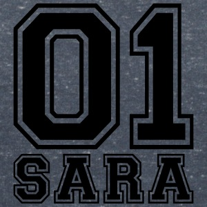 Sara - Name - Women's V-Neck T-Shirt