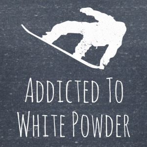 Addicted to White Powder - Women's V-Neck T-Shirt