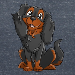 Cavalier King Charles - Black Fire - Women's V-Neck T-Shirt
