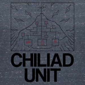 Chiliad Unit - T-shirt med v-ringning dam