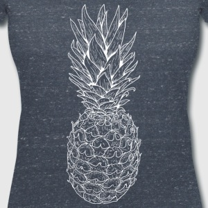 pineapple - Women's V-Neck T-Shirt