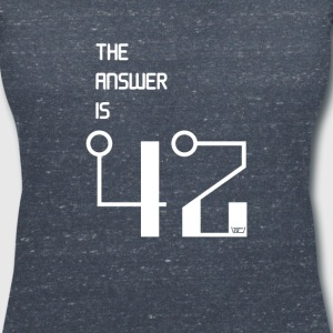The Answer is 42 - Women's V-Neck T-Shirt