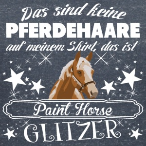 Point Horse - T-shirt med v-ringning dam