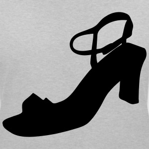 Vector highheels Silhouette - T-shirt col V Femme
