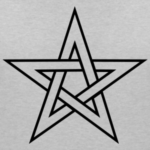 Pentagram, pentacle, magic, symbol, witchcraft, - Women's V-Neck T-Shirt