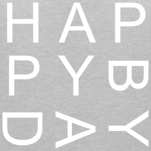 HAPPY BIRTHDAY - Vrouwen T-shirt met V-hals