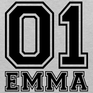 Emma - Name - Women's V-Neck T-Shirt