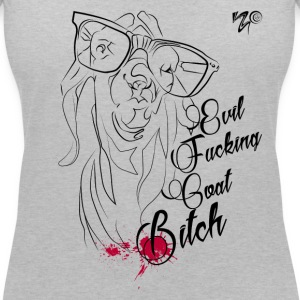 The Sassy Evil Goat Bitch - Women's V-Neck T-Shirt