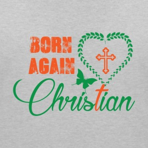 Born again - Christian - Women's V-Neck T-Shirt
