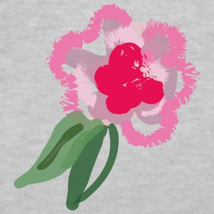 flower - Women's V-Neck T-Shirt
