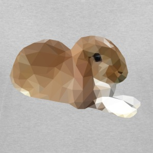 Relaxing Small Rabbit - Women's V-Neck T-Shirt