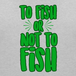 To fish or not to fish - Women's V-Neck T-Shirt